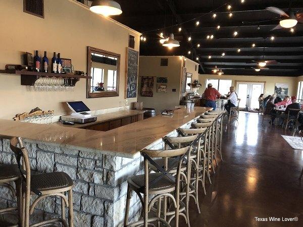 Bull Lion Ranch and Vineyard tasting bars