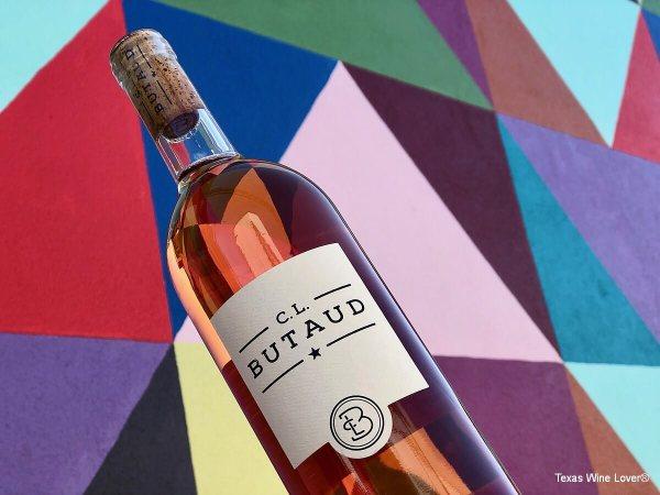 C.L. Butaud Rose bottle