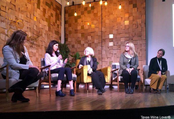 L-R: Amy Bess Cook, Samantha Sheehan, Cathy Corison, Alison Smith-Story, Martha Stoumen