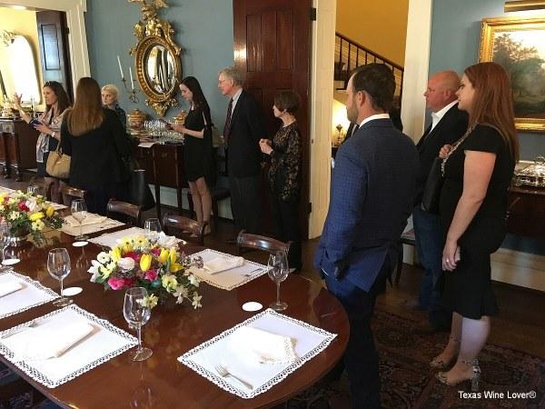 Brennan Vineyards Team receiving guidance