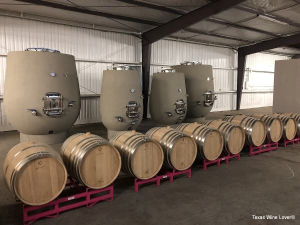Decant Urban Winery production area