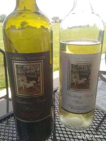 Cockrell Vineyards wine