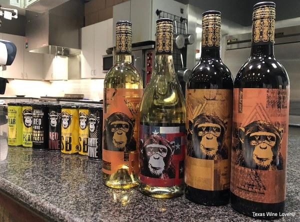Infinite Monkey Theorem's wines