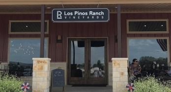 Los Pinos Ranch Vineyards at Fredericksburg outside