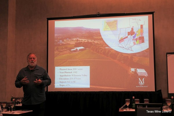 Rudy Marchesi of Montinore Estate - vineyard overview