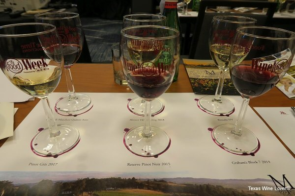 Rudy Marchesi of Montinore Estate - wine tastings