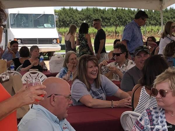 Crowd at Llano Estacado Winery Wine & Clay Festival