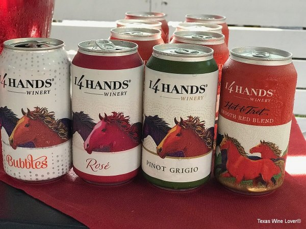 14 Hands Winery canned wines