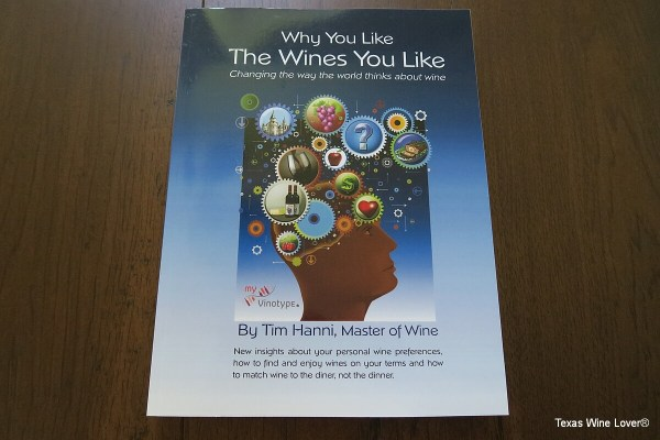 Why You Like The Wines You Like front cover