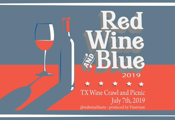 Red Wine and Blue Festival logo
