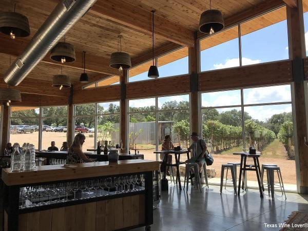 William Chris Vineyards tasting room