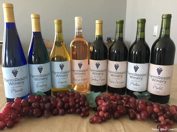FarmResort Winery wines