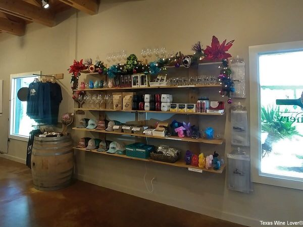 Fiesta Winery Marble Falls gift shop
