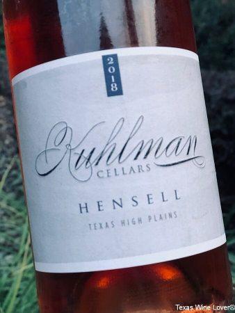 Kuhlman Cellars Hensell