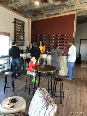 Bolen vineyards tasting room
