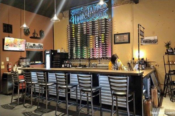 Hook & Ladder tasting bar