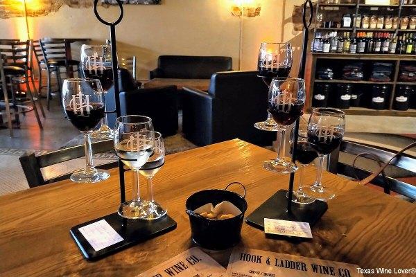 Hook & Ladder wine glass stands