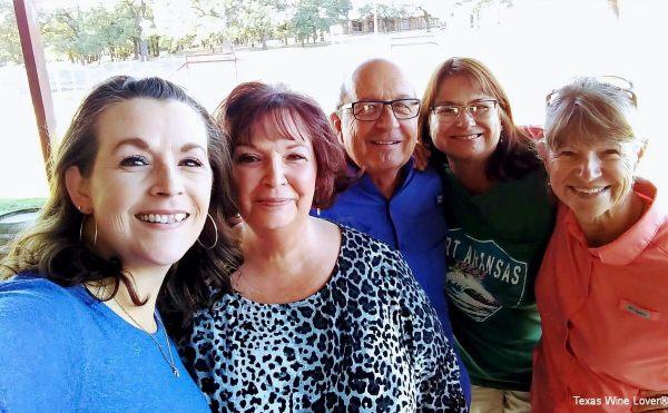 Laurinda, Irene, Mark & Becky Rogers, Margaret Lange