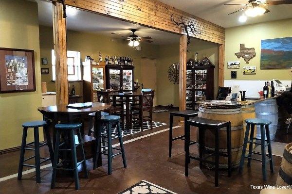 Marker Cellars tasting room