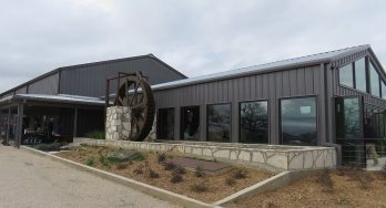 Slate Mill Wine Collective building