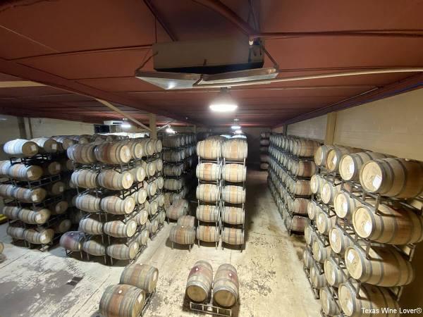Kiepersol barrel room