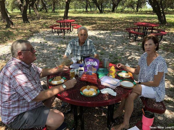 Lunch at Greens Creek Cellars