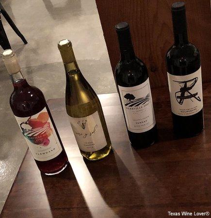 Kerville Hills Winery wines