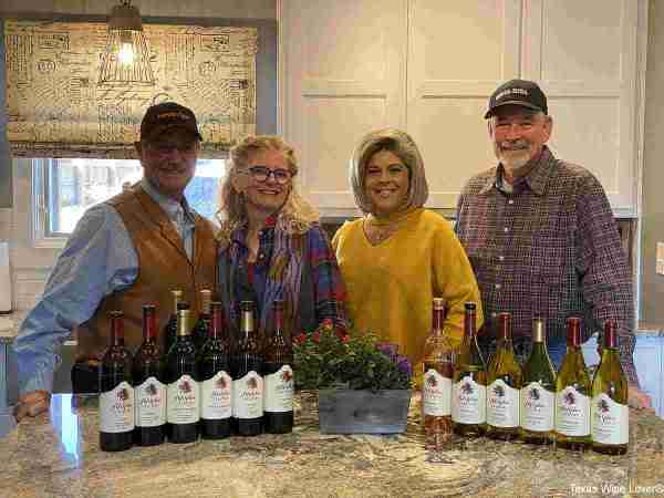 Bill & Gail Day, Vicky Keller, Jim Irwin