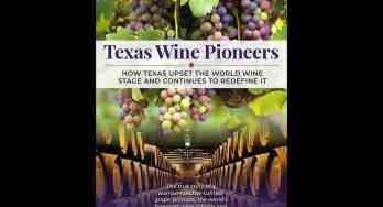 Texas Wine Pioneers front cover