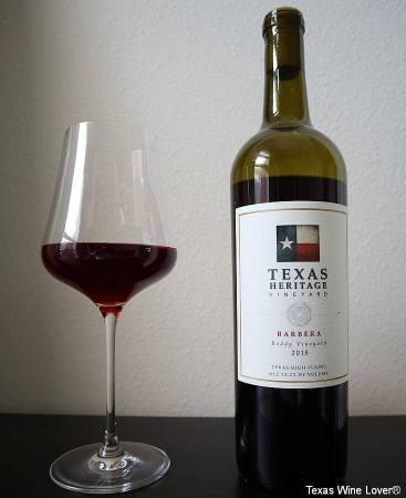 Texas Heritage Vineyard Barbera