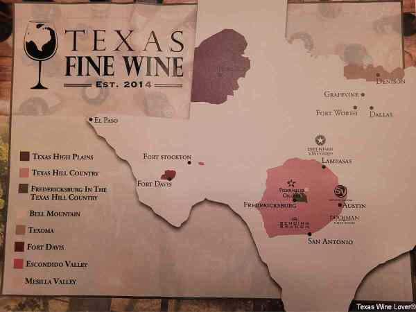 Texas Fine Wine AVAs