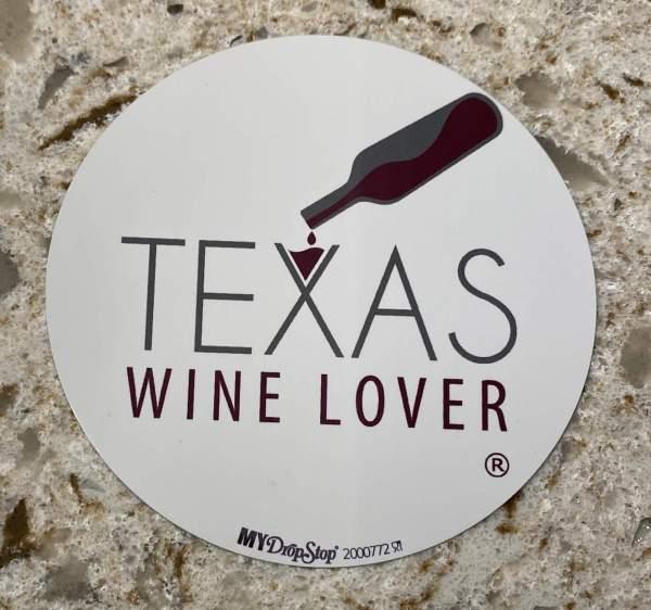 Texas Wine Lover DropStop