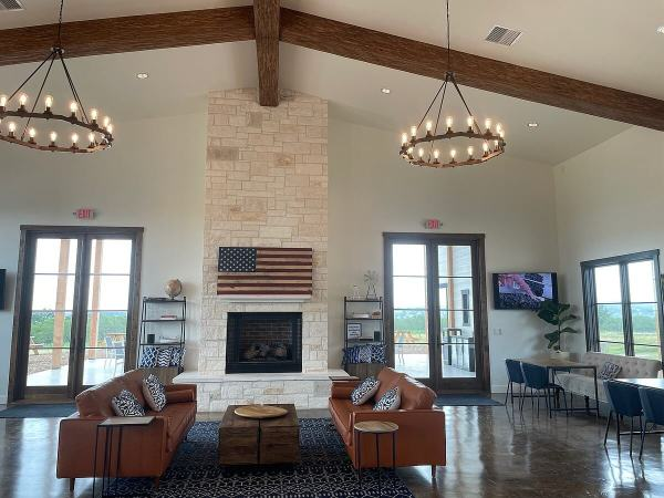 Covington Hill Country tasting room