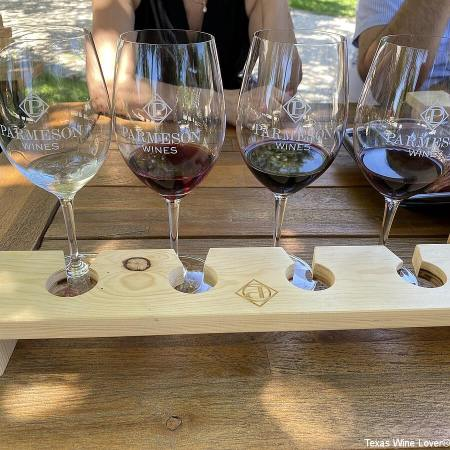 Parmeson Wines tasting