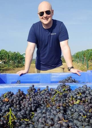 Seth Urbanek Wedding Oak Winery 2021 Harvest