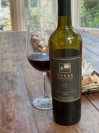 Texas Heritage Vineyard Estate Tempranillo