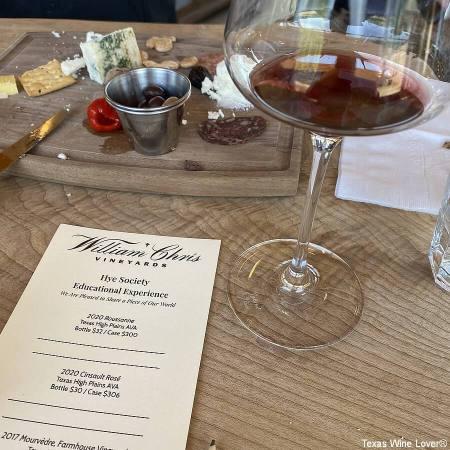 William Chris Vineyards tasting