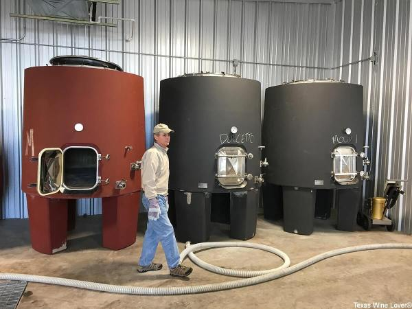 Southold Farm + Cellar concrete tanks