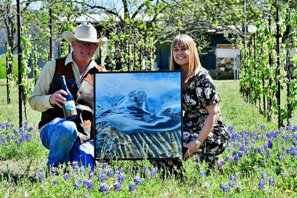 William Chris Vineyards April Artist Bland Release Event