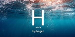 hydrogen-rigt vand