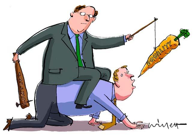 Chiến lược củ cà-rốt và cây gậy dành cho nhà quản lý