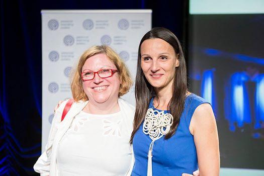 Beata Tomaszek i Anna Szubert