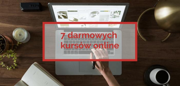 7 darmowych kursów online