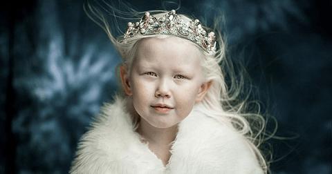 Маленькая Снежная королева из Якутии