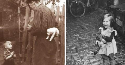 Черно-белые фотографии прошлого, от которых зашкаливает счастье