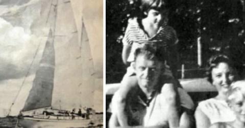Девочка, которую в 1961 году нашли в открытом море