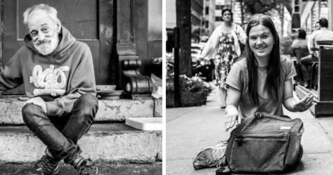 Бездомные и истории, которые за ними стоят