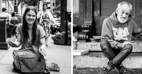 Бездомные и жизненные истории, которые за ними стоят