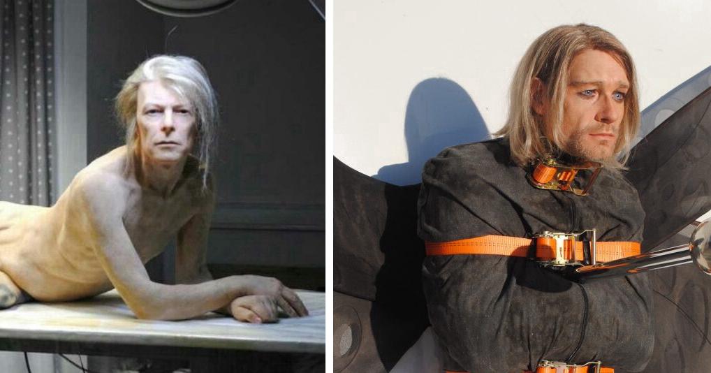 Силиконовые скульптуры Эдгара Аскеловича, которые невозможно отличить от настоящих людей