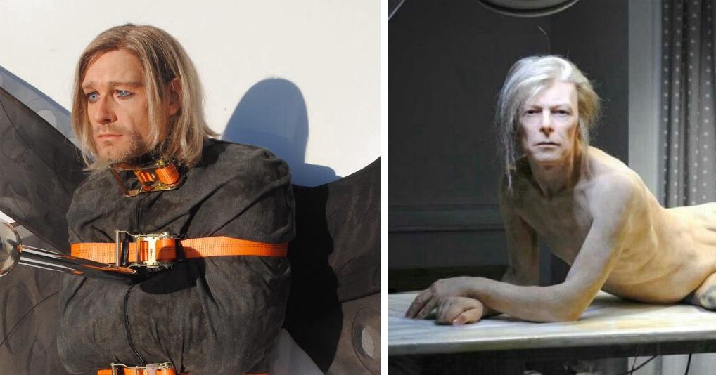 Эти силиконовые скульптуры Эдгара Аскеловича невозможно отличить от настоящих людей